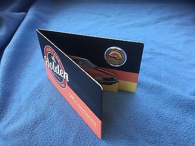 2016 Holden Heritage Coloured Uncirculated 50c Coin VC Commodore