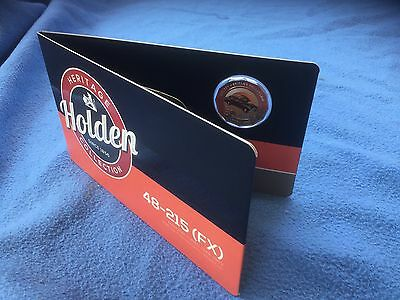 2016 Holden Heritage Coloured Uncirculated 50c Coin 48-215 (FX)