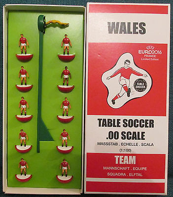 WALES heavyweight subbuteo TOP SPIN team UEFA EURO 2016 France LIMITED EDITION