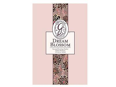 GREENLEAF Large Sachet in DREAM BLOSSOM Scent - Black Cherry Rose and Licorice!