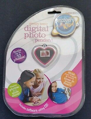 Discovery Kids Digital Photo Pendant Memory Keeper-Necklace