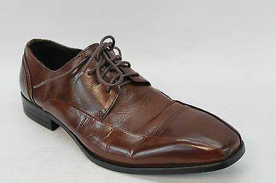 Kenneth Cole New York Men's Leather Shoes In Cognac Size 8.5 (S-1493)