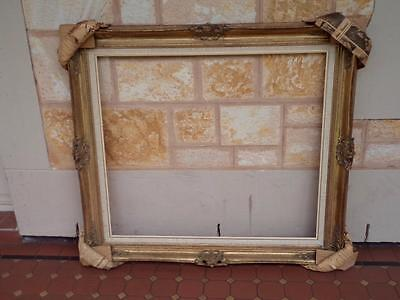 Large Original Antique Gold Guilded Ornate New Old Stock Stunning Picture Frame