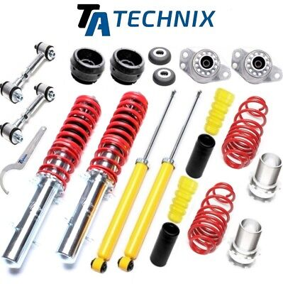ta-technix Sport coilovers+barres d'accouplement/ PALIER DE JAMBE -> VW GOLF 4 /