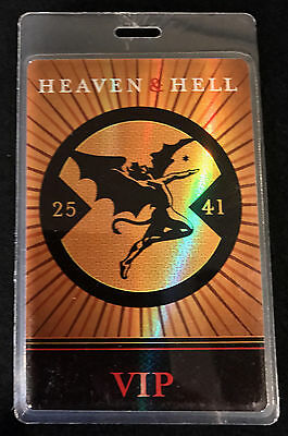 Heaven & Hell (Ronnie James Dio) - VIP Tour Laminate Backstage Pass