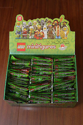 New LEGO 71008 Mini Figures Series Case of 60 Bags Retired Hard to Find