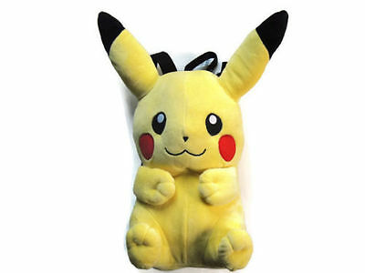 "16"" Nintendo Game Costume Bag Pokemon Pikachu Plush Doll Backpack US SELLER"