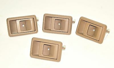 1 OEM Toyota 4Runner Surf Pickup Truck RIGHT Tan DOOR HANDLE LATCH BEZEL  89-95