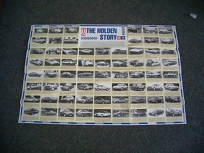 The Holden Story Large Poster  1948 - 1990   Gmh