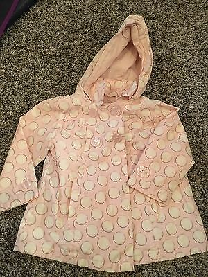 Infant Girls Raincoat, Size 12-18 Months, Pink, Baby Club