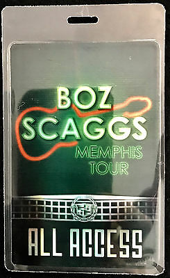 Boz Scaggs - All Access Tour Laminate Backstage Pass - 2014 Tour - LAST ONE!!