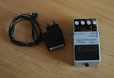 Boss DSD-3 Pedal (Delay, digital sampler, trigger)