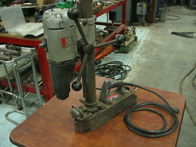"Black & Decker 1 1/4"" H.D.  Magnetic Drill Press - Two Speed"