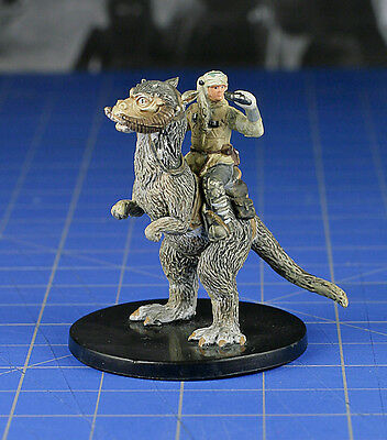 Luke Skywalker on Taun Taun #48 Universe, U Star Wars miniature NC