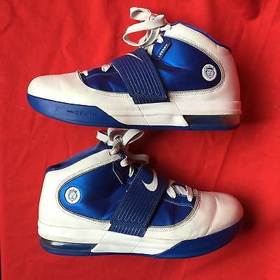 NIKE AIR WITNESS women's fashion white blue basketball shoes size--10