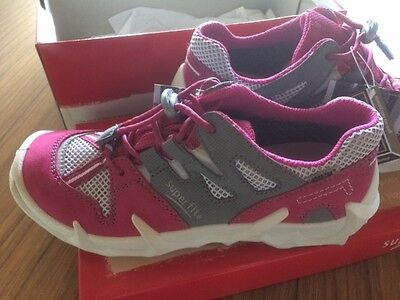 Superfit girls shoes runners size 33 NEW