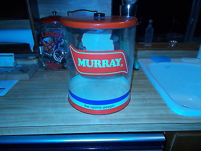 Rare Vintage Murray's Biscuit Company Augusta Georgia Cookie Jar Canister/Lance