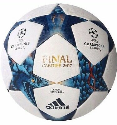 Authentic Adidas Uefa Champions League Final Cardiff .2017  Official Match Ball