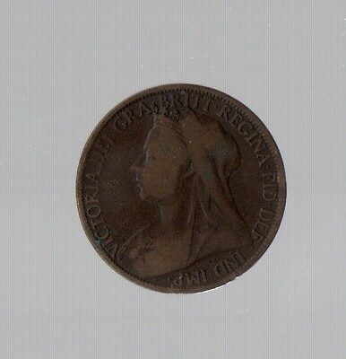 Great Britain 1897 Copper Penny