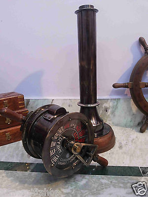 Brass Ship Telegraph Chadburns Liverpool London Marine Vintage