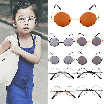 5cc5ab8d91 42MM CHILDREN KIDS Baby Metal Frame Glasses Fashion Cute Round Nerd  Spectacle -  2.08
