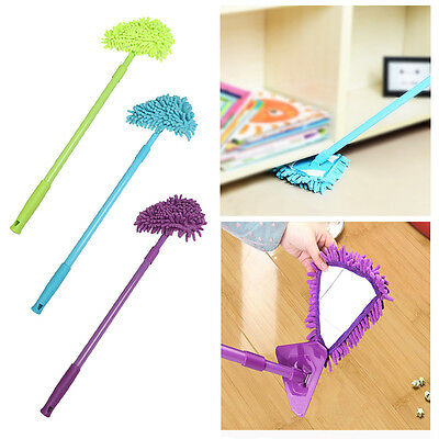 Multifunction Car Cleaning Wash Brush Dusting Mop Microfiber Telescoping Duster