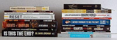 Lot of 20 Christian Books & Guides (11 books, 9 guides)