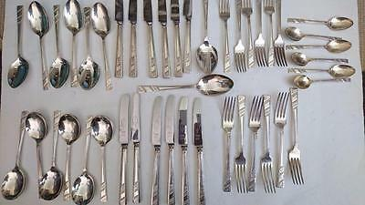 Viners Ltd Silver Plate  Cutlery Set  - 44 PIECES Sheffield England