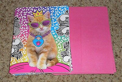 Teacher Resource: 10 Cat / Kitten Notecards with Envelopes
