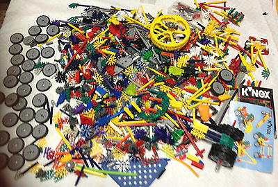 Just Over 2,75Kg K'nex Lots Of Variety Wheels