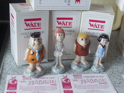 Wade Flintstones Fred Wilma Betty And Barney Boxed And Certs
