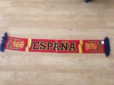 Spain football scarf, NEW