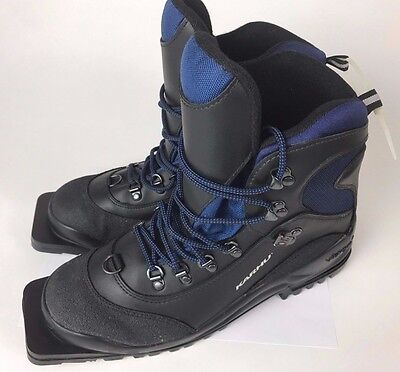 KARHU 75mm Nordic Norm 3 PIN WINTER SNOW CROSS BACK COUNTRY SKI BOOTS 10 WOMEN