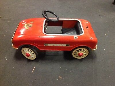 1950's Collectible Pressed Steal Pedal Car