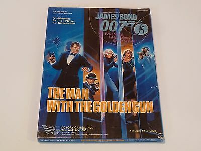 The Man With The Golden Gun - James Bond 007 Rpg Adventure - 1985 Victory Games
