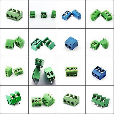 KF Series Terminal Block Connector 2P 3P 3.5mm 3.96mm 5mm 5.08mm 7.6mm 8.5mm New