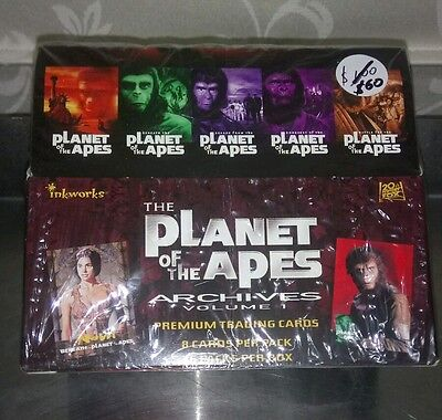 PLANET OF THE APES - Archives Trading Cards Sealed Box NEW