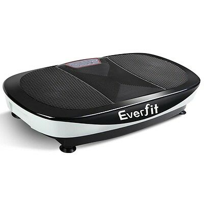 1200W Twin Motor Vibrating Plate Exercise Platform -White