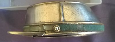 Antique Plated Tobacco Box In Form Of A French Officers Cap.