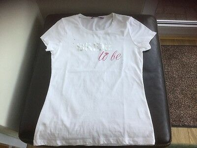 bride to be t-shirt white size m