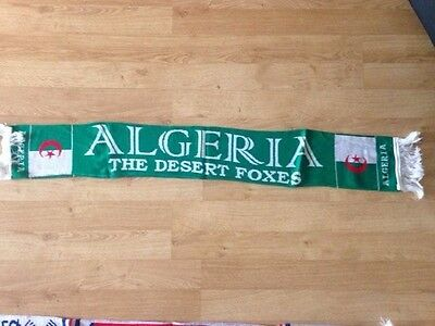 Algeria football scarf, NEW