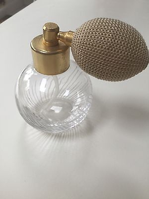 Etched Glass Scent Spray