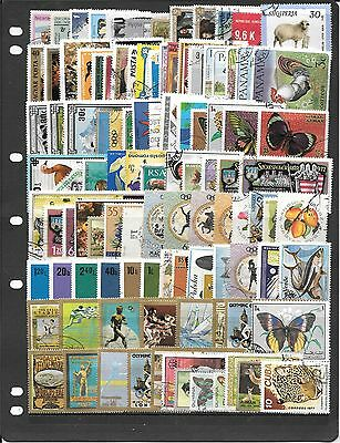 Thematic  Collection Of Used Stamps Bb369