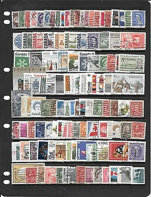 Canada Collection Of Used Stamps Bb364