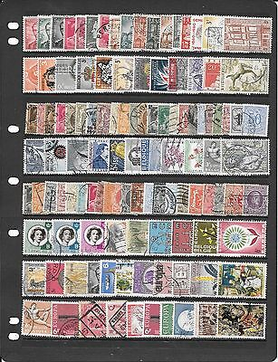 Belgium  Collection Of Used Stamps Bb351