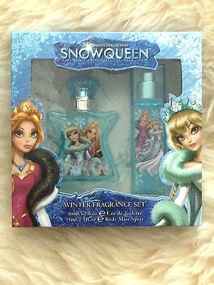 Ice Princess SnowQueen Winter Fragrance Body Mist Spray+Eau De Toilette Gift Set