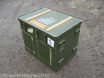 MOD Lockable Storage Chest Shipping Case Tool Box Military Camping Expedition