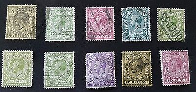 Great Britain King George V Selection Used