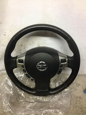 Nissan Qashqai 2011 Leather Multi-functioning Steering Wheel with Airbag
