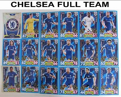 Match Attax 16/17 TESCO Legends Full Set ALL 16 S1 - S16 2016/2017 2016/17